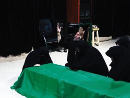 نماهنگ وداع با پیکر شهید سید علی حسینی