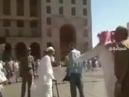 شلاق زدن یک ایرانی در ملأ عام در عربستان!