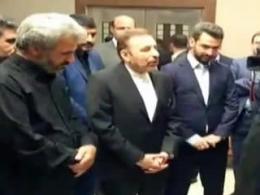 اعتراض پدر شهید احمدی روشن نسبت به سوء استفاده از جایگاه شهدا (ماجرای تودیع معارفه دولت)