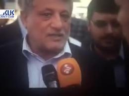 درخواست سیراب شیردان از محسن هاشمی حین مصاحبه تلویزیونی