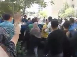 حمله ماموران سد معبر شهرداری منطقه پنج به مردم
