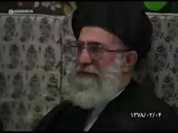 گلچینی از مداحیهای قدیمی ذاکران اهل بیت(ع) در ایام محرم در حضور امام خامنه ای(مدظله العالی)
