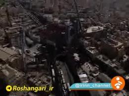 سنگ تمام مردم تهران برای شهید بی سر مدافع حرم