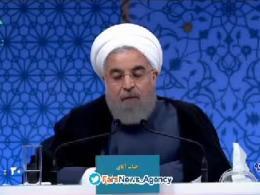 روحانی: اگر رای بیاورم غیر از تحریمهای هستهای که برداشتم، بقیه تحریمها را هم برمیدارم.