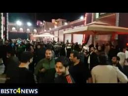 لحظه زلزله در حرم امامین عسکریین