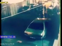 فیلم دوربین های مداربسته از زلزله کرمانشاه