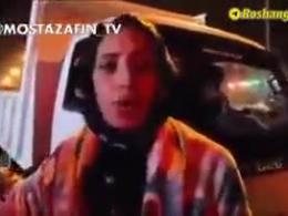 بانوی کرمانشاهی: خاک بر سر دولت روحانی!