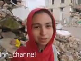فیلم دیگری از اسماء،  دخترک زلزلهزدهی کرمانشاهی که در آغوش رهبر انقلاب آرام گرفت..