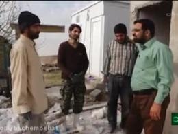 کار جهادی کسی که برادرش 35سال پیش در منطقه کرمانشاه شهید شده بود