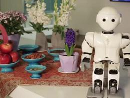 تبریک نوروزی ربات انسان نمای «سورنا مینی» به مردم ایران
