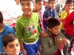 گروه جهادی شهید ابراهیم هادی در روستای حاجی آباد
