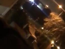 اولین فیلم از تیراندازی در عربستان