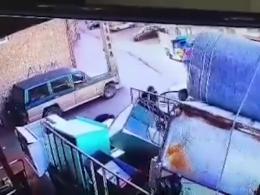 لحظه ربوده شدن دختر ۱۸ ساله در تبریز