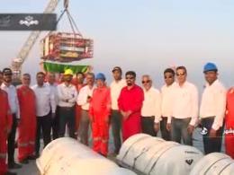 اولین سکوی نفتی ایرانی