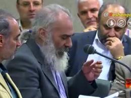 شعرخوانی آقای یوسفعلی میرشکاک در محضر رهبری