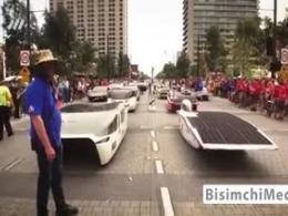 مسابقات خودرو خورشیدی رتبه آوری ایران