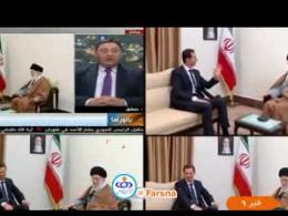 بازتاب گسترده سفر بشار اسد به تهران در رسانه های بینالمللی