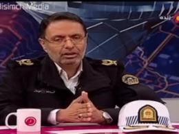 توضیحات رئیس پلیس راهور درمورد کتک کاری سرباز پلیس با یک زن !