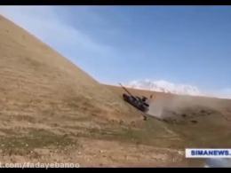 گوشه ای از اقتدار تانک کرّار،نماد اقتدار نیروی زمینی میهن عزیزمان ایران