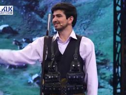 تیراندازی با استعداد عجیب در مسابقه تلویزیونی