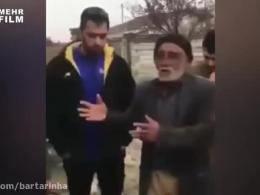 اعتراض تند پیرمرد گلستانی به لاریجانی