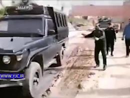 خودروهای ضد شورش در لرستان چه میکنند؟! + فیلم