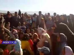 اقدام جالب جهادگران آذربایجان شرقی در مناطق سیل زده پلدختر + فیلم