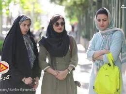 لحظاتی از گرفتار شدن چند شهروند تهرانی در سیل !!
