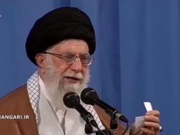 رهبر انقلاب: بدانید، اینها نفس های آخر دشمنیِ دشمن، نسبت به جمهوری اسلامی است