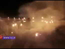 اولین فیلم از آتش سوزی در مسجد الاقصی