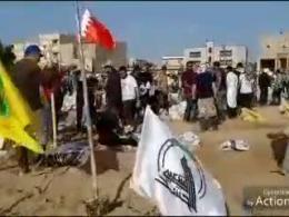 تلاش جوانان عراقی، لبنانی و بحرینی برای مقابله با سیلاب در شادگان