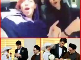 خطبه عقد دختر مالک هلدینگ نفتی و میلیاردر مسئول در دولت روحانی توسط خاتمی!