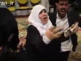 مادر شهید مجید قربانخانی : استخوان های مجید من سوخته ، اینقدر نگید اینها برای پول میرن...