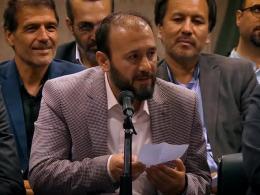 شعرخوانی آقای هادی محمدحسنی در محضر رهبری