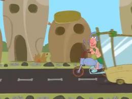 انیمیشن موتورسیکلت