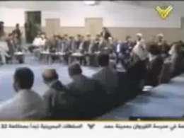 شعر خوانی مقام معظم رهبری به زبان عربی