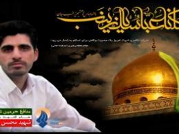 مراسم تشییع مدافع حرم، پاسدار شهید محسن حیدری