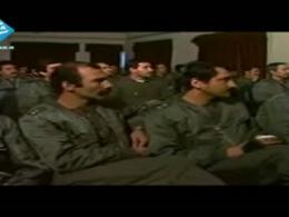 تنها فیلم موجود از خلبان شهید عباس دوران و علیرضا یاسینی