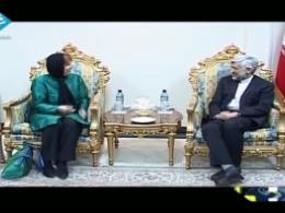 دور افتخار اشتون در زمین ایران!