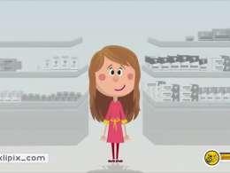 انیمیشن روشنا - درمان تیرگی زیر چشم