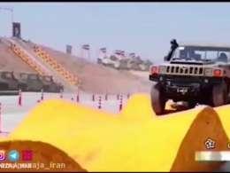 کیفیت خودروهای نظامی ایرانی را ببینید!