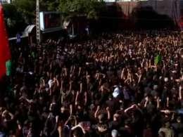 دعای متفاوت حاج محمود کریمی در مراسم عاشورا