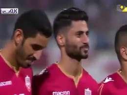 رفتار توهین آمیز تماشاگران بحرینی هنگام سرود تیم ملی