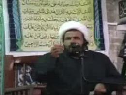 سخنرانی استاد حجت الاسلام منظوری