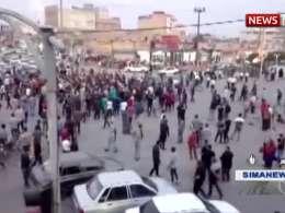 گزارش صدا و سیما از تجمعات اعتراضی به افزایش قیمت بنزین در چند شهر