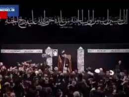 مداحی حاج محمود کریمی درحضور شهید سپهبد حاج قاسم سلیمانی