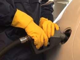 جهاد در پمپ بنزین چرام