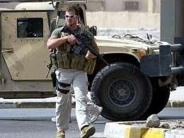 سوتی یک تروریست تکفیری در حال آموزش توسط نیروهای بلکواتر آمریکا در سوریه!!