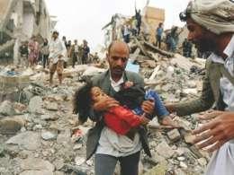الله اکبر، رجز خوانی یک کودک یمنی برای آمریکا و اسرائیل و عربستان!