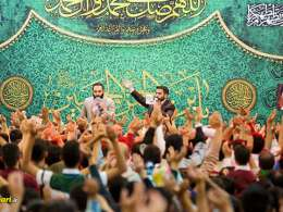 کربلایی حسین طاهری و محمد حسین حدادیان | دلبرم اومده